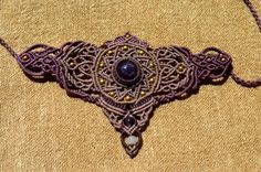 Amethyst Crown...Bracelet by RamanaGems on Etsy