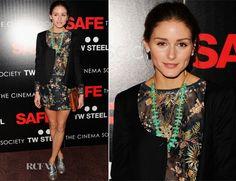 Olivia Palermo in Zara. So cute!