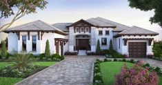 House Plan 207-00034 - Contemporary Plan: 4,486 Square Feet, 4 Bedrooms, 4.5 Bathrooms