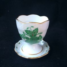 Herend Apponyi grun  - egg cup  #Herend