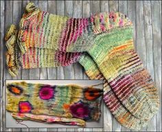 from SockStreet.com. From this to this! Love seeing what handspun can look!....yummy!