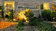 El Castillo de San Servando está ubicado en Toledo. Se inició su construcción como monasterio en 1024, en tiempos de Alfonso VI. En 1088 se convirtió en alcázar debido a la amenaza del reino cristiano y a las posibles entradas de los musulmanes por el puente de Alcántara. En 1147 Muñoz de Cervatos conquistó el castillo de las manos de los moros.