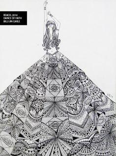 Billijin Carle on Talenthouse Doodle Art Drawing, Zentangle Drawings, Mandala Drawing, Pencil Art Drawings, Art Drawings Sketches, Zentangles, Mandala Art Lesson, Mandala Artwork, Black Art Painting