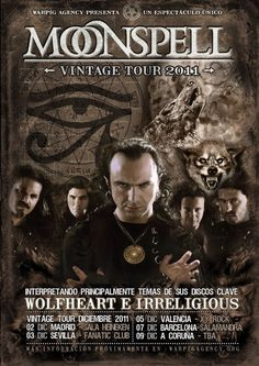 Moonspell is a Portuguese heavy metal band. Formed in 1992,