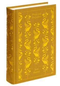 Pride and Prejudice- I could make a joke about judging a book by it's cover, but I own 4 versions of this book (including 2 digital ones) and I would still buy this beautiful book.