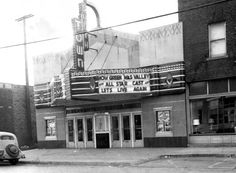 Springfield, IL. South Town Theater 1930's. Courtesy of Springfield Rewind and Sangamon Valley Archives.