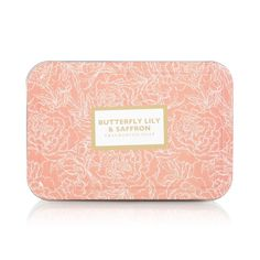 Butterfly Lily & Saffron Soap