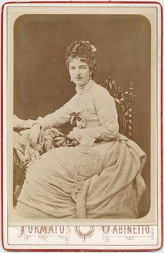 Queen Marguerite of Italy, 1880.