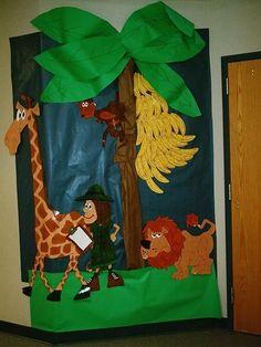 jungle theme classroom | Safari welcome board (pupil bananas) classroom display photo - Photo ...