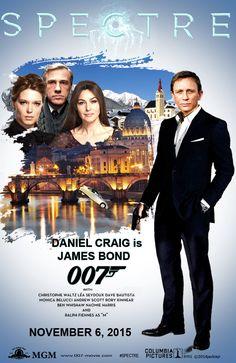 """Teaser Poster for """"Spectre"""", the new James Bond movie. Collage by jackiejr #JamesBond #007 #jamesbondfanart"""