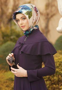 Fashion Sewing, Kids Fashion, Fashion Outfits, Womens Fashion, Hijab Style, Hijab Chic, Girl Hijab, Cap Dress, Dress With Cardigan