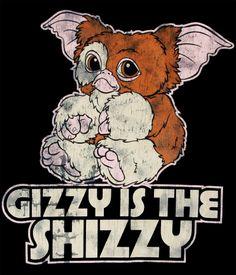 Camiseta chica Gremlins. Gizmo Camiseta chica con la imagen del pequeño Gizmo, el gremlin bueno de la clásica película con miles de seguidores.