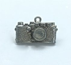 10pc Camera Charms // Photography // Charms // Camera // SilverTone // Hard To Find // Solid // Made In The USA by Winky&Dutch