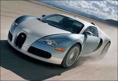 Bugatti Veyron  Does anybody really need 987bhp? Unlikely ever to be exempted from London's congestion charge.
