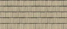 "Cedar Impressions® Double 7"" Straight Edge Rough-Split Shakes: Savannah Wicker"