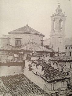 Santa Maria Segreta, veduta dai tetti | da Milàn l'era inscì