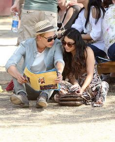 Vanessa Hudgens and Austin Butler <3 Seriously one of the most attractive couples ever...