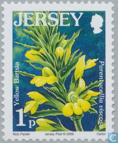 Postage Stamps - Jersey - Flowers