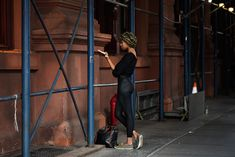On the Street…..Bleecker St., New York « The Sartorialist  the bottoms are a bit questionable though.