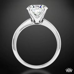 'Broadway' Solitaire Engagement Ring