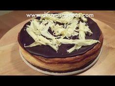 Tarta de Queso con Chocolate - Recetas de Postres Fáciles y Rápidos