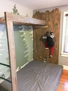 DIY Mountain Climbing Rock Wall (in the boys' room) – Boy Room 2020