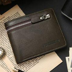 💰1100 руб.  Мужской кожаный кошелек Pidengbao - черный. Wallet for men Портмоне