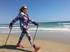 Nordic Walking, Cross Training, South Africa, Health Fitness, Beach, Fashion, Moda, The Beach, Fashion Styles