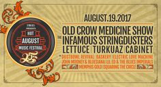 Homepage - Hot August Music Festival