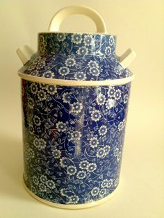 Chintz Cookie Jar made in Japan