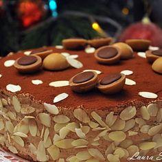 Tort Toffifee Caramel, Stuffed Mushrooms, Sweets, Cookies, Baking, Vegetables, Cake, Desserts, Food