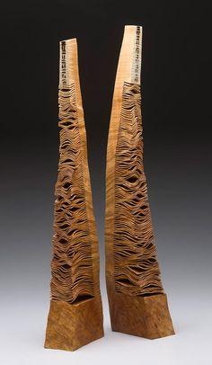 "Christian Burchard ~ ""Songs of the Bones #1 ~ Wood Madrone Burl"