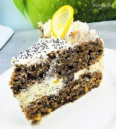 Svieža torta s citrónovo-makovým krémom - recept Tiramisu, Ale, Ethnic Recipes, Food, Eten, Ales, Tiramisu Cake, Meals, Diet
