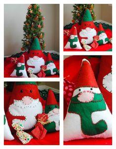 How to make a felt gnome Christmas decoration- DIY