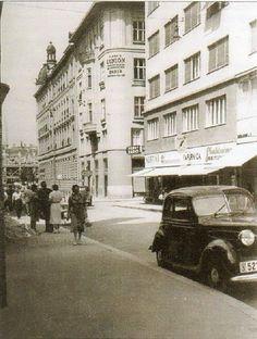 Bogovićeva street - Zagreb, Yugoslavia (1937)