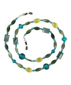 Another great find on #zulily! Jade Green Eyeglass Chain Necklace by I Heart Eyewear #zulilyfinds#sexylibrarian