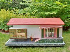 RARE original SCHOENHERR dollhouse BUNGALOW 50s VINTAGE 60s GOTTSCHALK   Dolls & Bears, Dollhouse Miniatures, Doll Houses   eBay!