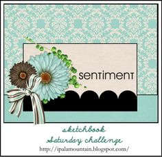 Sketchbook Saturday Challenge #95   Random Acts of Creativity; April 2013
