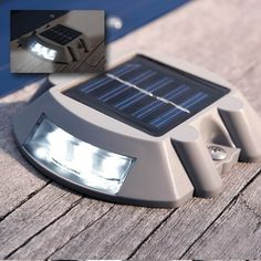The wireless solar DockLite is easy to install . Its durable and weatherproof low profile construction makes it an attractive and functional addition to docks, decks and landings . Ideal for illuminat