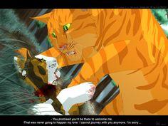 Spottedleaf's Death by Mizu-no-Akira.deviantart.com on @deviantART