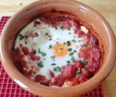 Huevos de la flamenca (Gypsy eggs) - 220 calories