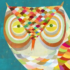 'What a Hoot Owl' by Melanie Mikecz