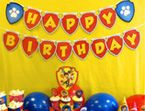 PAW Patrol Birthday Banner & other printables from Nick jr