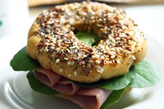Fill your AIP bagel with your favorite protein for a filling breakfast or lunch // TheCuriousCoconut.com