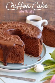 Style, sweetness and more. Fudge Cake, Pie Cake, No Bake Cake, Chocolate Chiffon Cake, Chocolate Desserts, Sweet Recipes, Cake Recipes, Dessert Recipes, Torta Chiffon
