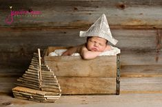 Cute props for infant picture