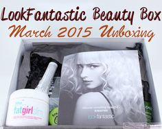 Review and unboxing of the LookFantastic Beauty Box March 2015, a UK subscription that ships worldwide.