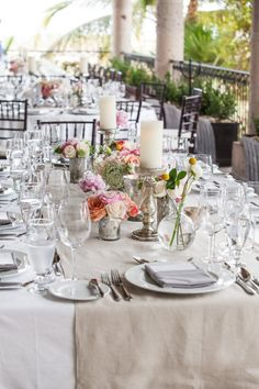 style me pretty - real wedding - mexico - los cabos wedding - cabo del sol - reception decor - table decor