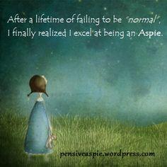 Pensiveaspie Expressions of PosAutivity: #AutismPositivity2014