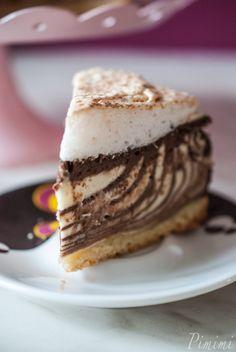 vorweihnachtlicher Zebra-Cheesecake